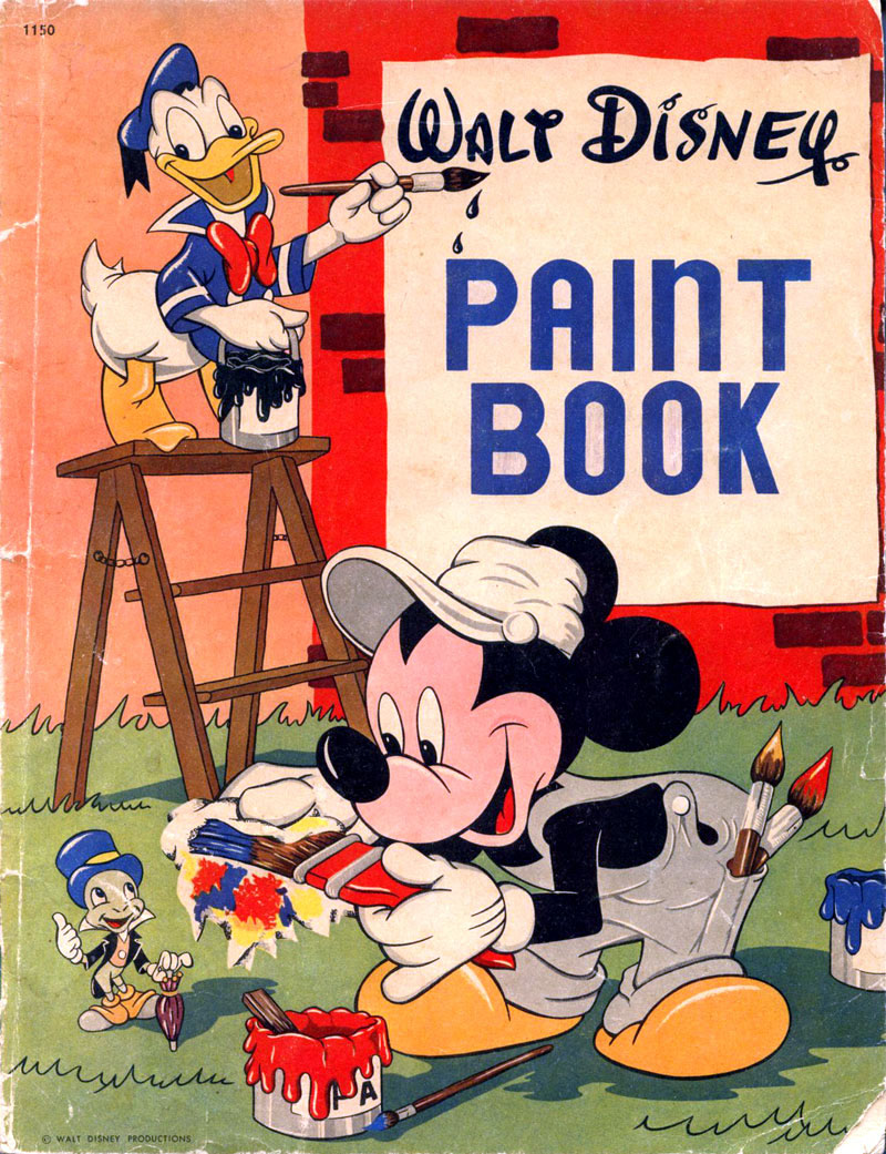 Disney Paint Book (1949) Whitman