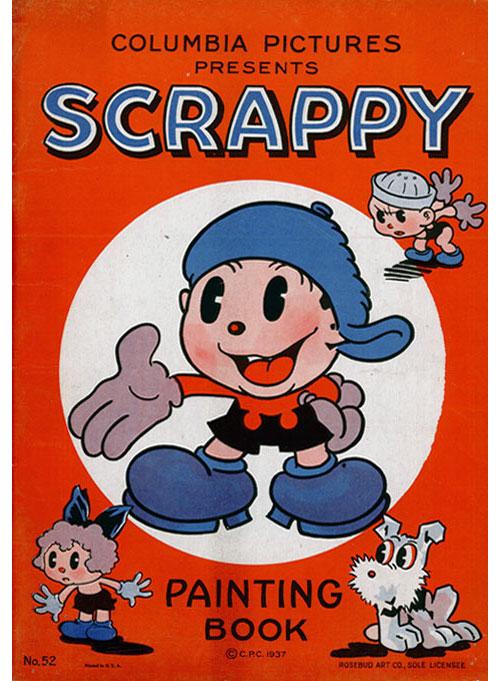 Scrappy (1937) Rosebud Art Co.