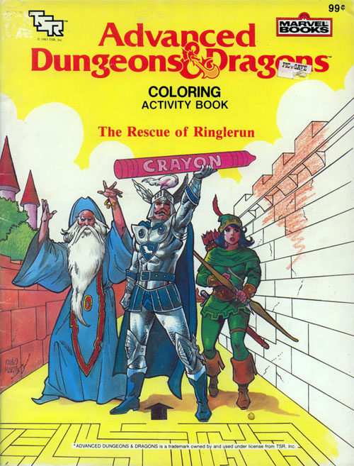 Dungeons & Dragons (Ringlerun; 1983) Marvel