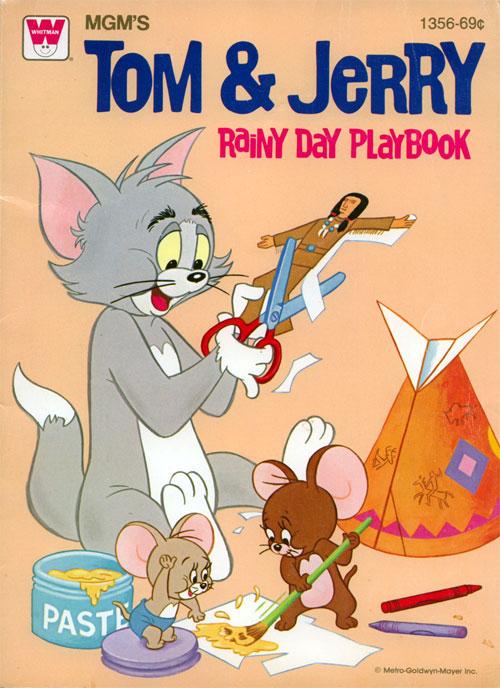 Tom & Jerry (Rainy Day Playbook; 1979) Whitman