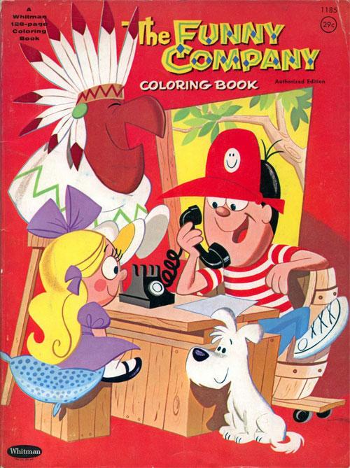 Funny Company (Coloring Book; 1964) Whitman