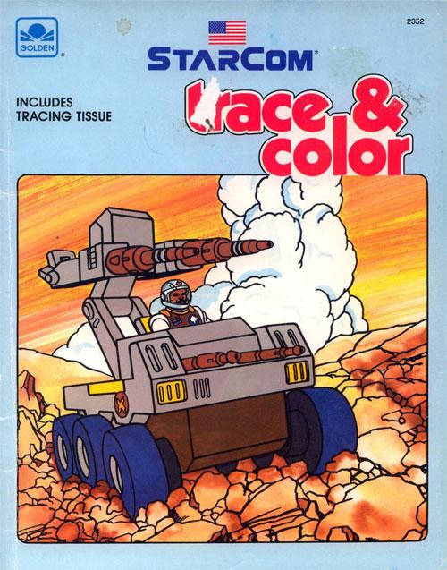 Starcom (Trace & Color; 1988) Golden Books