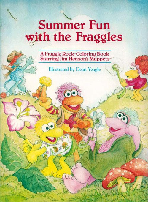 Fraggle Rock (Summer Fun; 1985) Muppet Press