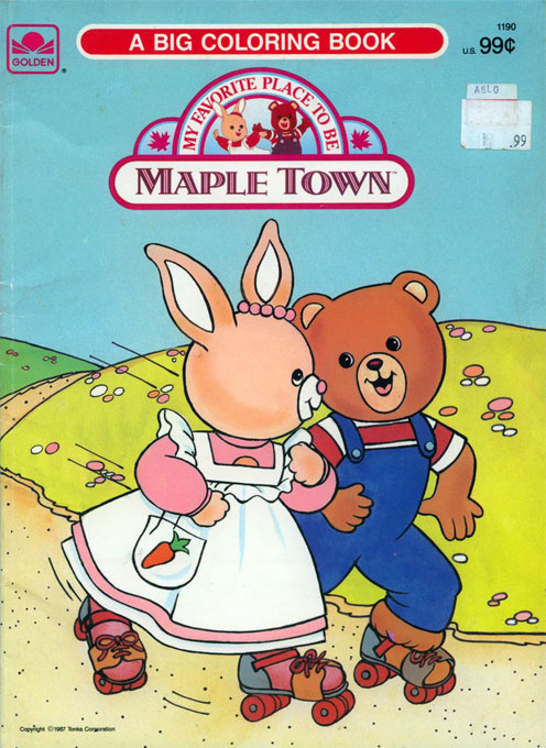 Maple Town (Skating; 1987) Golden Books