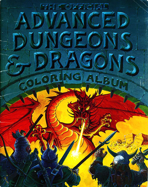 Dungeons & Dragons (1979) Troubadour Press