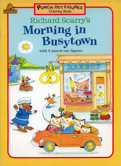 Busy World of Richard Scarry (Morning in Busytown; 1991) Random House