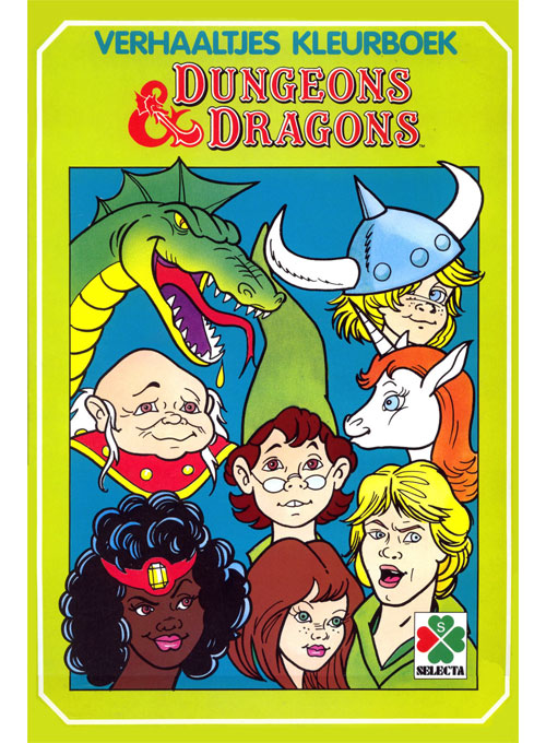 Dungeons & Dragons (1987) Selecta