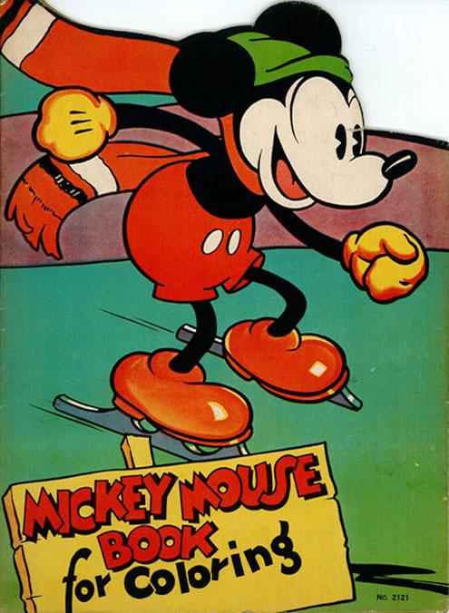 Mickey Mouse (1936) Saalfield