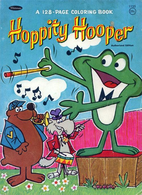 Hoppity Hooper (Coloring Book; 1966) Whitman