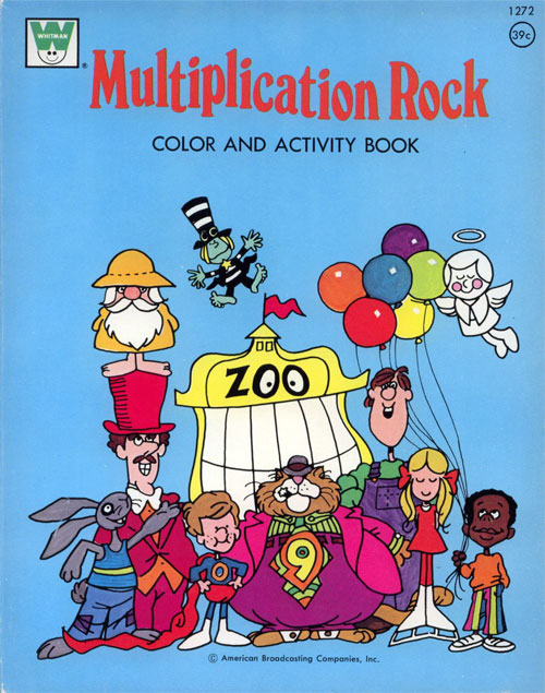 Schoolhouse Rock! (Multiplication Rock; 1973) Whitman