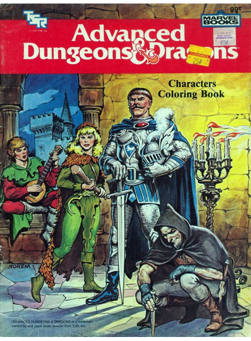 Dungeons & Dragons (Characters; 1983) Marvel