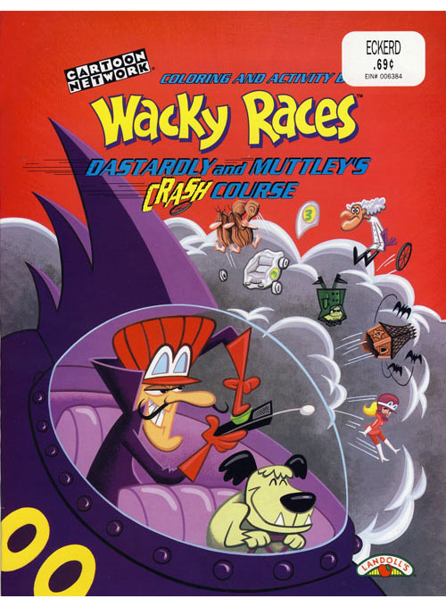 Wacky Races (Crash Course; 1998) Landoll's