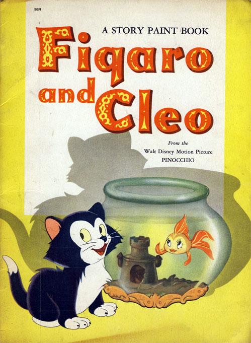 Pinocchio (Figaro and Cleo; 1940) Whitman