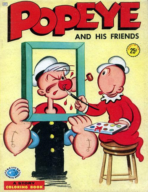 Popeye (1957) Treasure