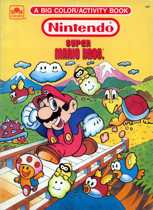 Super Mario Bros. (1989) Golden Books