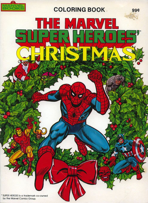 Marvel Super Heroes' Christmas (1984) Marvel