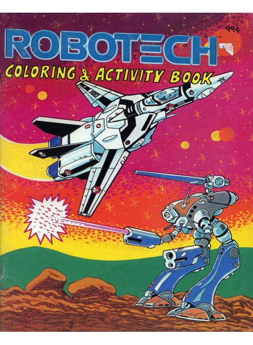 Robotech (Red Sky; 1985) Modern Publishing