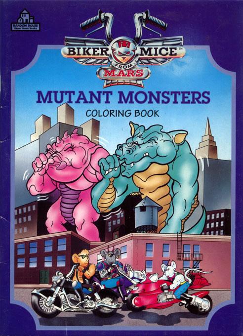 Biker Mice from Mars: Mutant Monsters (1994) Random House