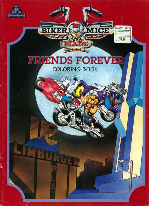 Biker Mice from Mars: Friends Forever (1994) Random House