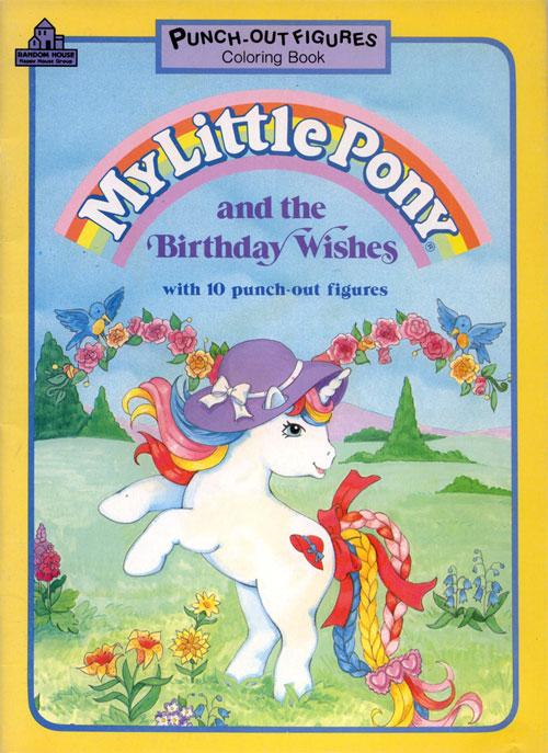 My Little Pony: Birthday Wishes (1989) Random House