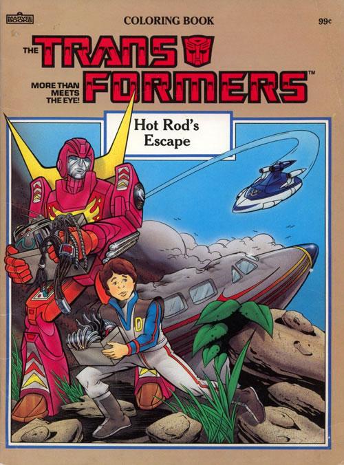 Transformers: Hot Rod's Escape (1986) Marvel