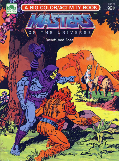 He-man: Friends and Foes (1984) Golden Books