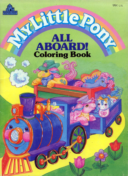 My Little Pony: All Aboard (1988) Happy House