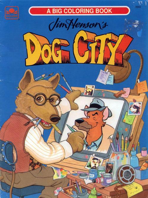 Dog City (1993) Golden Books