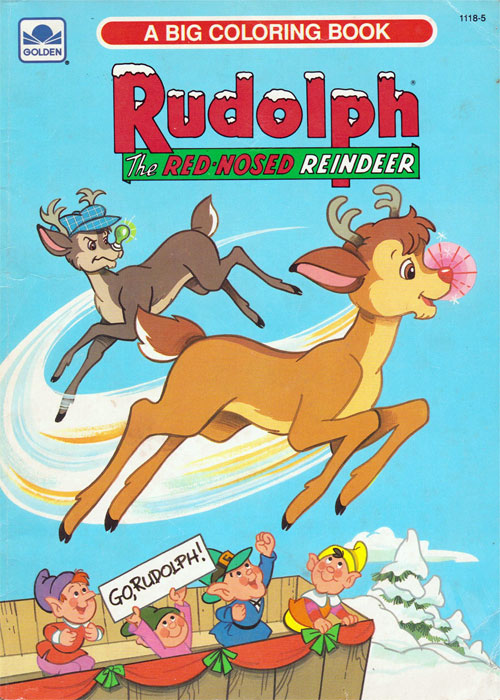 Rudolph the Red-nosed Reindeer (1991) Golden Books
