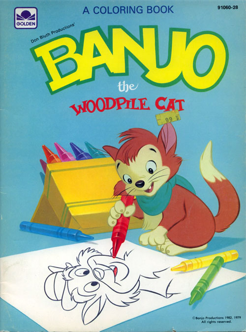 Banjo the Woodpile Cat (1982) Golden Books