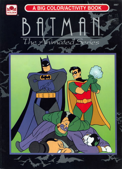 Batman: The Animated Series (Coloring Book; 1993) Golden Books