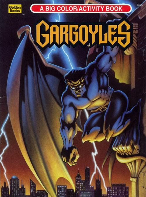Gargoyles (Coloring Book; 1995) Golden Books