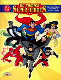 DC Superheroes (Coloring and Activity Book; 1998) Landolls