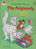 Aristocats (Coloring Book; 1970) Whitman