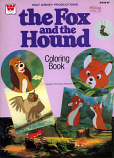 Fox and the Hound (Coloring Book; 1981) Whitman