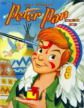 Peter Pan (Coloring Book; 1952) Whitman