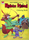 Robin Hood (Coloring Book; 1973) Whitman