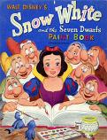 Snow White (Paint Book; 1952) Whitman