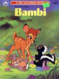 Bambi (Coloring Book; 1986) Golden Books