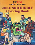 Real Ghostbusters (Joke and Riddle; 1986) Simon & Schuster