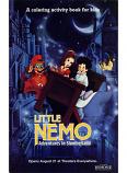 Little Nemo: Adventures in Slumberland (Coloring Book; 1989) Hemdale