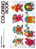 Letter People (Coloring Book; 1981) Childcraft