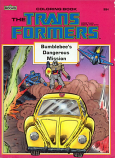 Transformers (Bumblebee's Dangerous Mission; 1985) Marvel