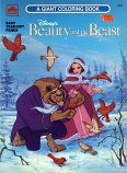 Beauty & the Beast (Coloring Book; 1991) Golden Books