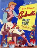 Cinderella (Paint Book; 1950) Whitman