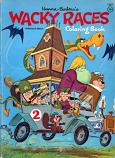 Wacky Races (Coloring Book; 1969) Whitman