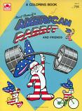 American Rabbit (Coloring Book; 1984) Golden Books
