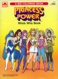 She-Ra: Who's Who Book (1985) Golden Books