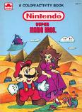 Super Mario Bros. (Coloring & Activity; 1989) Golden Books