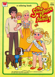 Sunshine Fun Family (Coloring Book; 1979) Whitman